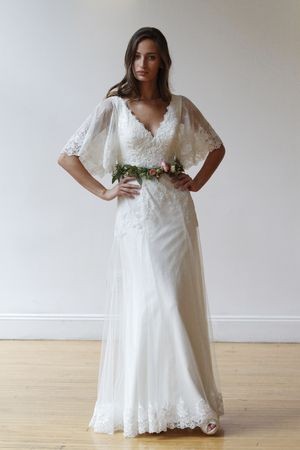20 Gorgeous Wedding Dresses With Flutter Sleeves Flutter Sleeve - Flutter Sleeve Wedding Dress