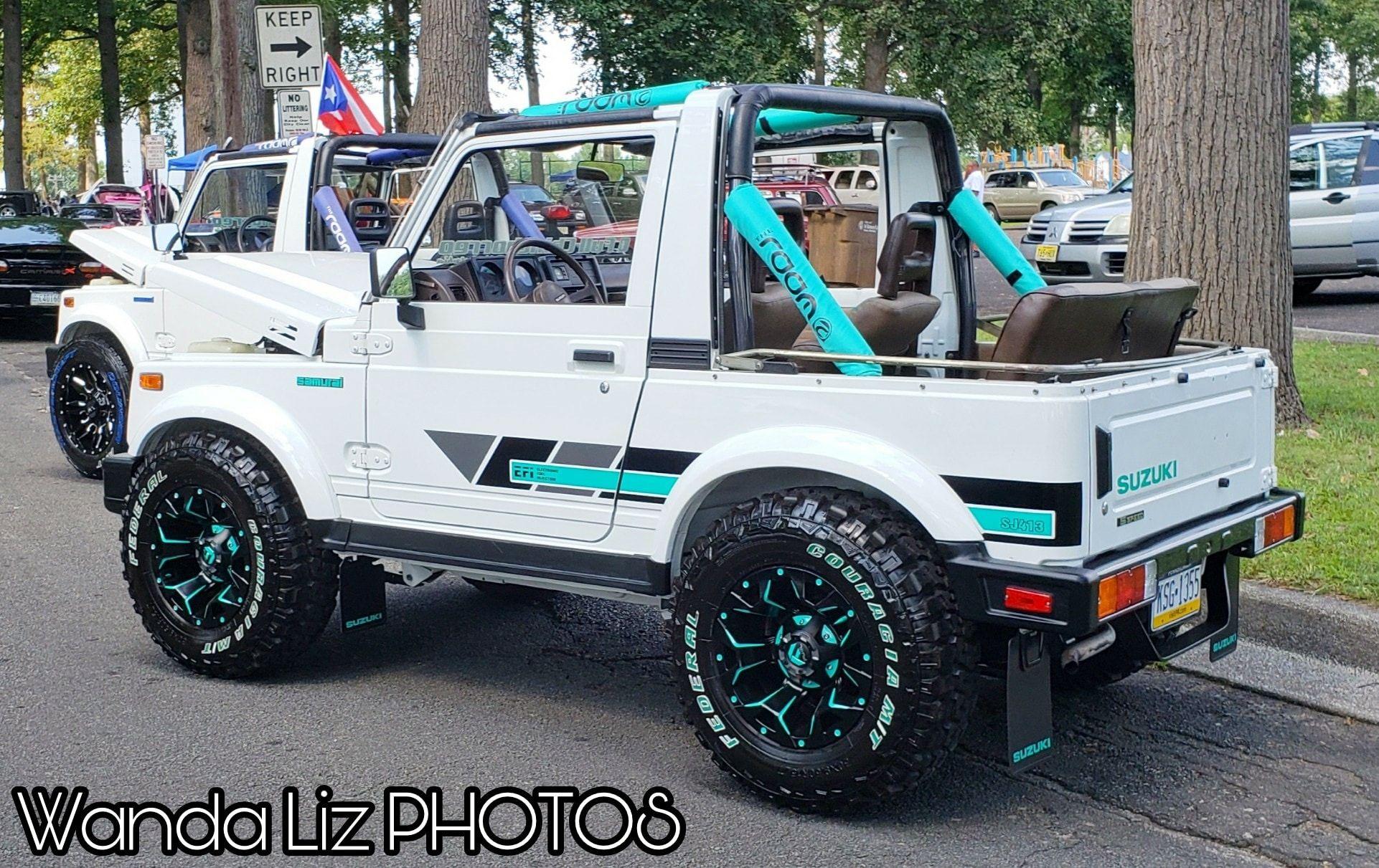 Suzuki Samurai Jeep 4x4 Off Road Fuel Wheels Sidekick Tracker Geo