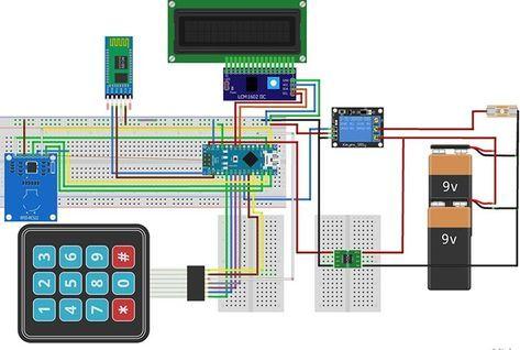 arduino rfid door lock arduino smart door locks. Black Bedroom Furniture Sets. Home Design Ideas