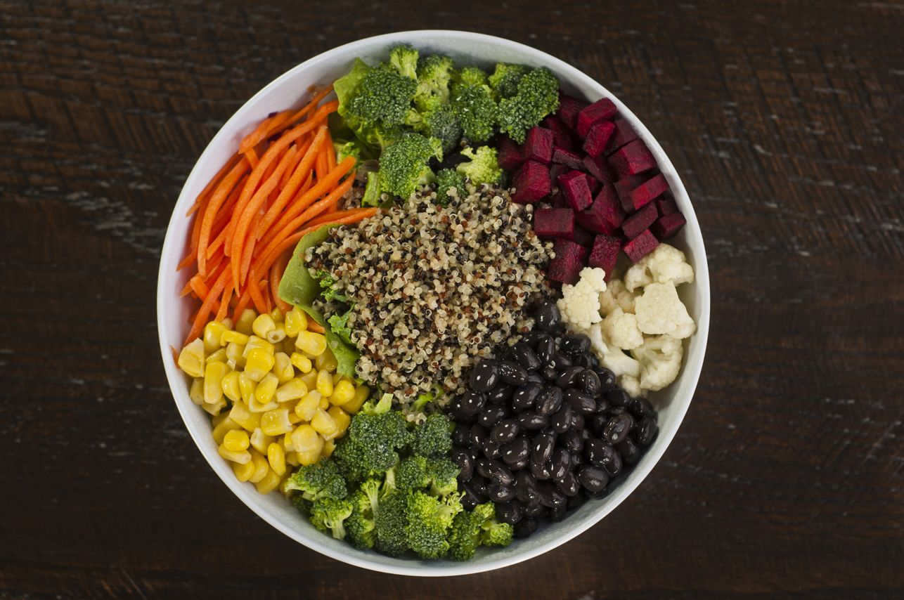 Review The Grains Menu At Corelife Eatery And Select A Base Ingredients Premiums And Dressing Vegan Restaurant Options Grain Salad Recipes Healthy Recipes