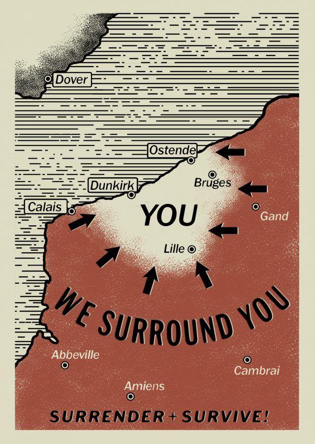 WarTorn Poster Released for Christopher Nolans Next Film DUNKIRK