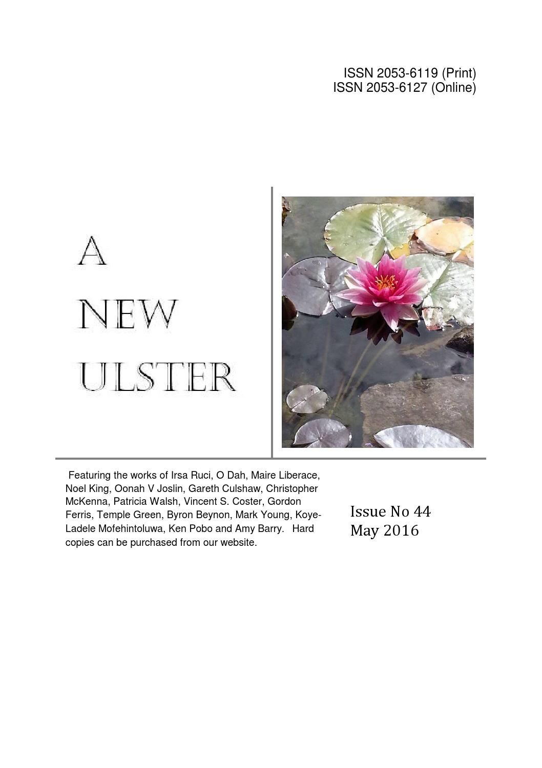 Anu issue 44 / A New Ulster