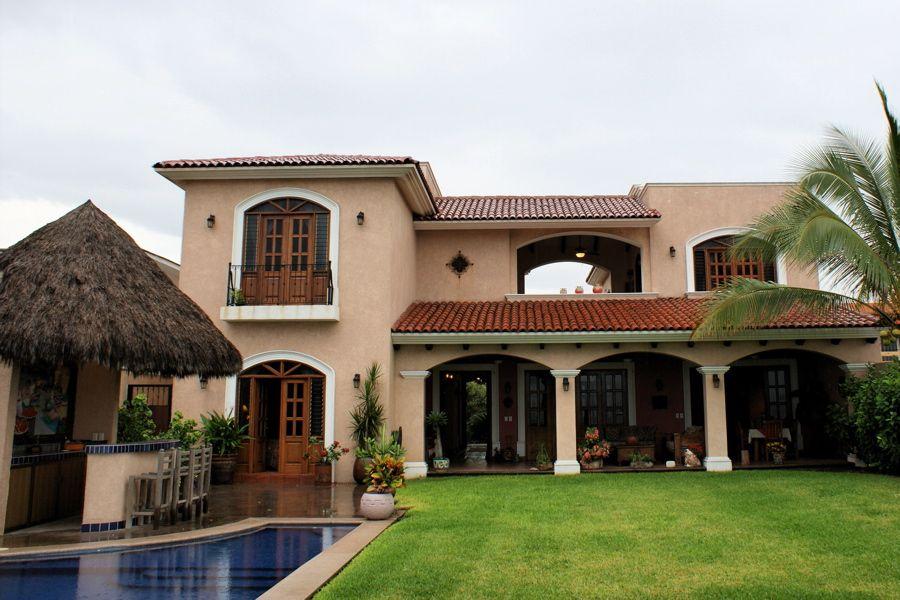 Casa tipo hacienda mexicana buscar con google fachadas for Planos de casas modernas mexicanas