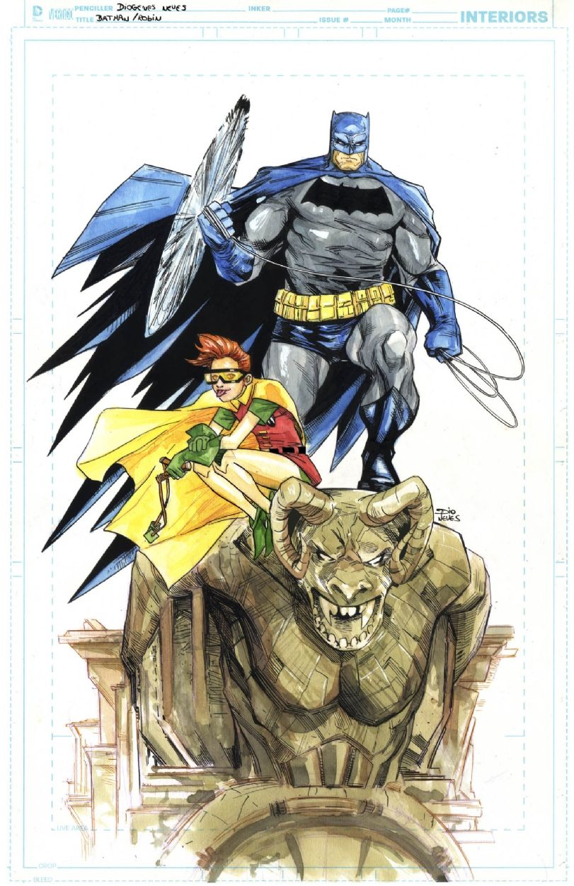 The Dark Knight Returns: Batman and Robin by Diogenes Neves