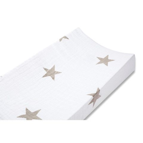 Aden and Anais Changing Pad Cover Super Star Fawn Star