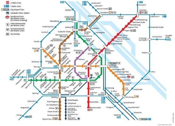 Vienna Subway Map.Vienna Metro Map Calatorie Viena Subway Map Map Vienna