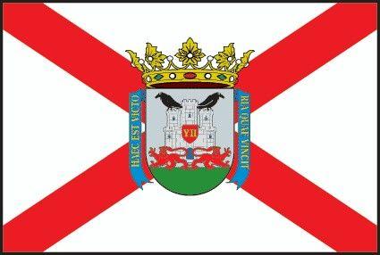 Flag Of Vitoria Gasteiz Basque Country Spain City Flags Flag