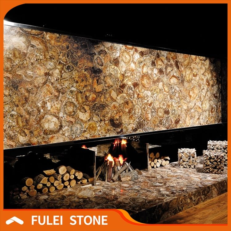 Interior Home Precious Brown Petrified Wood Stone Wall Tile Decoration Find Complete Details About Interior Home Precious Wood Petrified Wood Stone Tile Wall