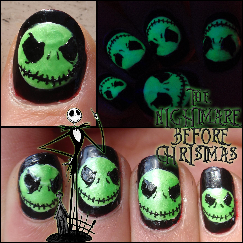 DIY Halloween Nails : Glow in the dark! | DIY Halloween Nails ...