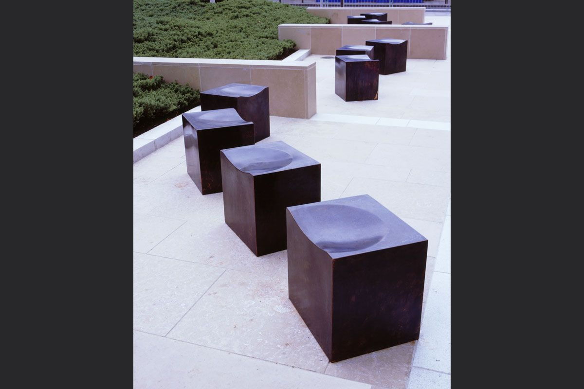 Cube seats, designed and made by Definitive1 for Rope ...