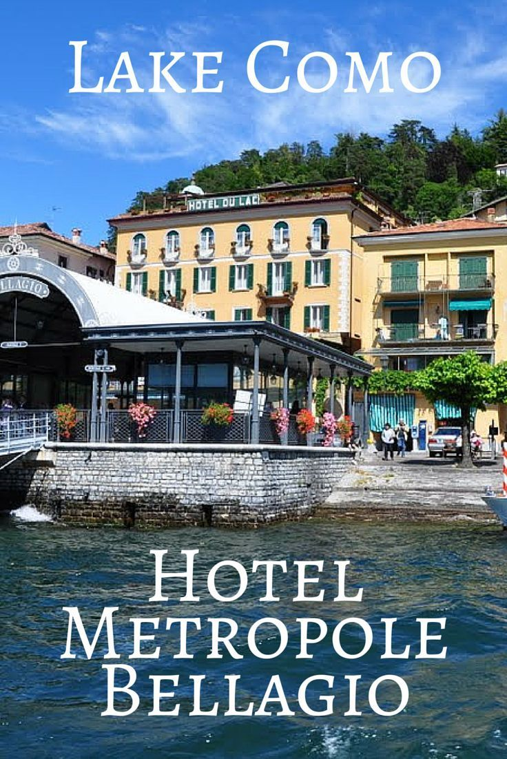Hotel Metropole Bellagio is centrally located in Bellagio, Lake Como with in walking distance to the ferry stops, restaurants, and shopping.