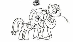 kostenlos meine kleinen pony malvorlagen zum ausdrucken für kinder - franziska hoffmann