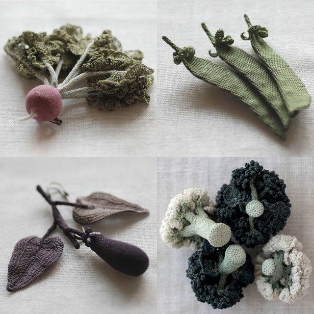 crochet veggies by jungjung