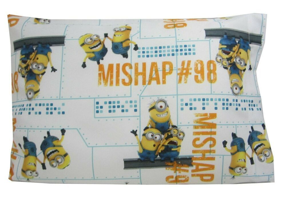 Minion Childrens or Travel  Pillow Case