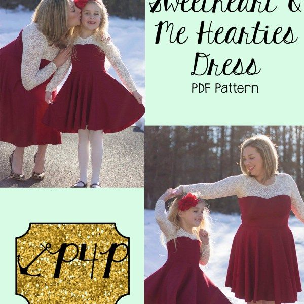 Sweetheart And Me Hearties Dress Bundle Patterns For Pirates