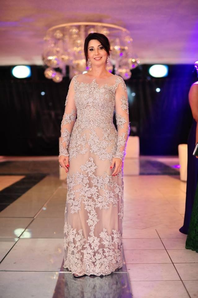 Mãe da noiva, vestido prata com rendas | Style | Pinterest ...