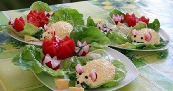 Cheese appetizer «mouse»