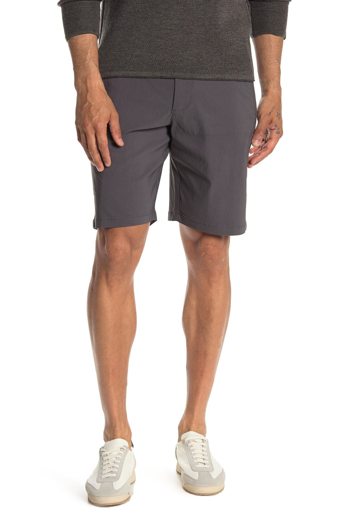Tech Utility Shorts In Forged Iron English Laundry Shorts Clothes