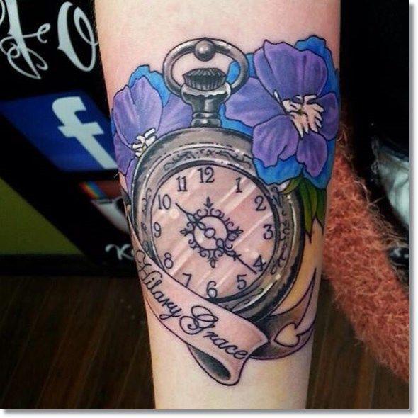 28 Watch Tattoo Designs Ideas: 75 Brilliant Pocket Watch Tattoo Designs Ever Made
