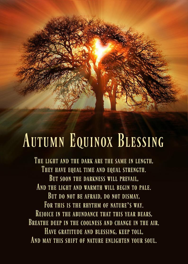 Mabon/Autumn Equinox Blessing – Witches Of The Craft® #autumnalequinox