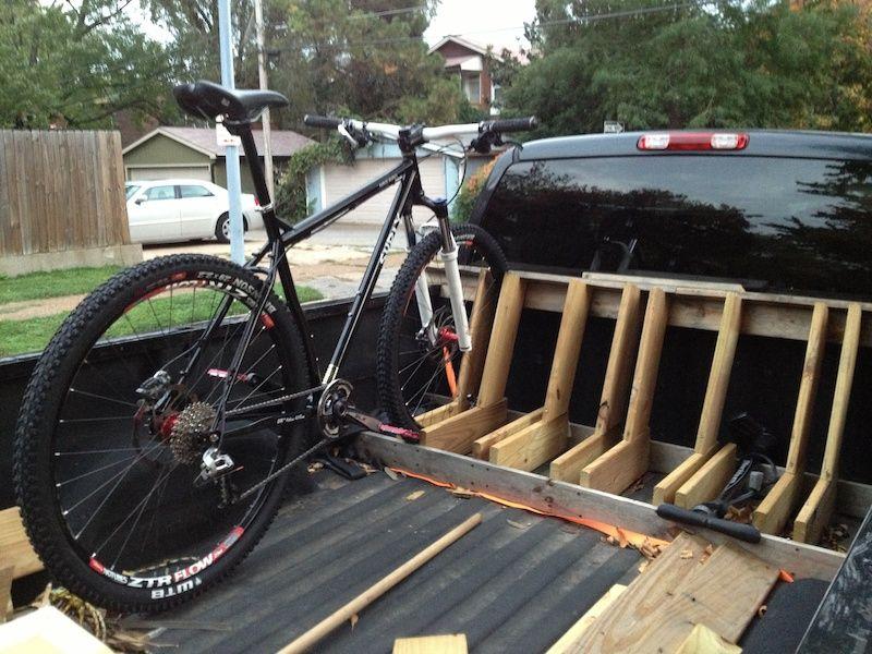 Brand New Build Diy Bike Rack Bike Truck Bike Rack