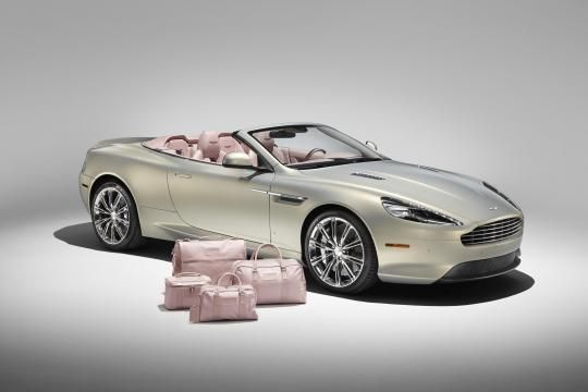 This is an Aston DB9 with pink interior