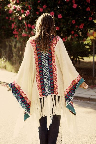 I really love this poncho!
