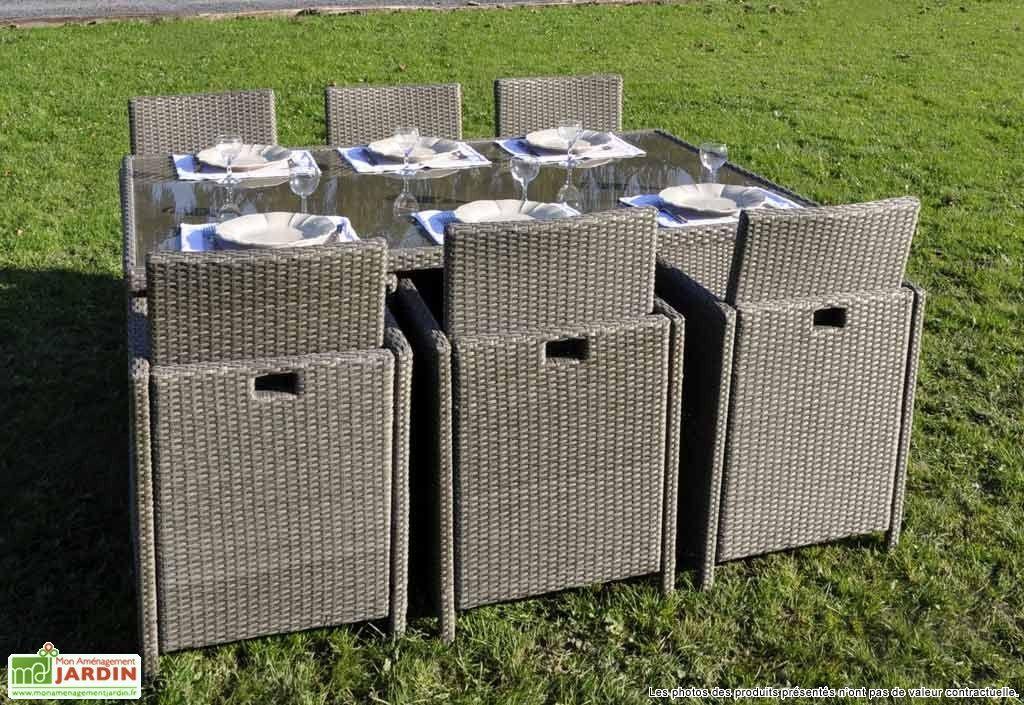 Salon de Jardin Antalya : Table + 6 Chaises   Agrément de ...