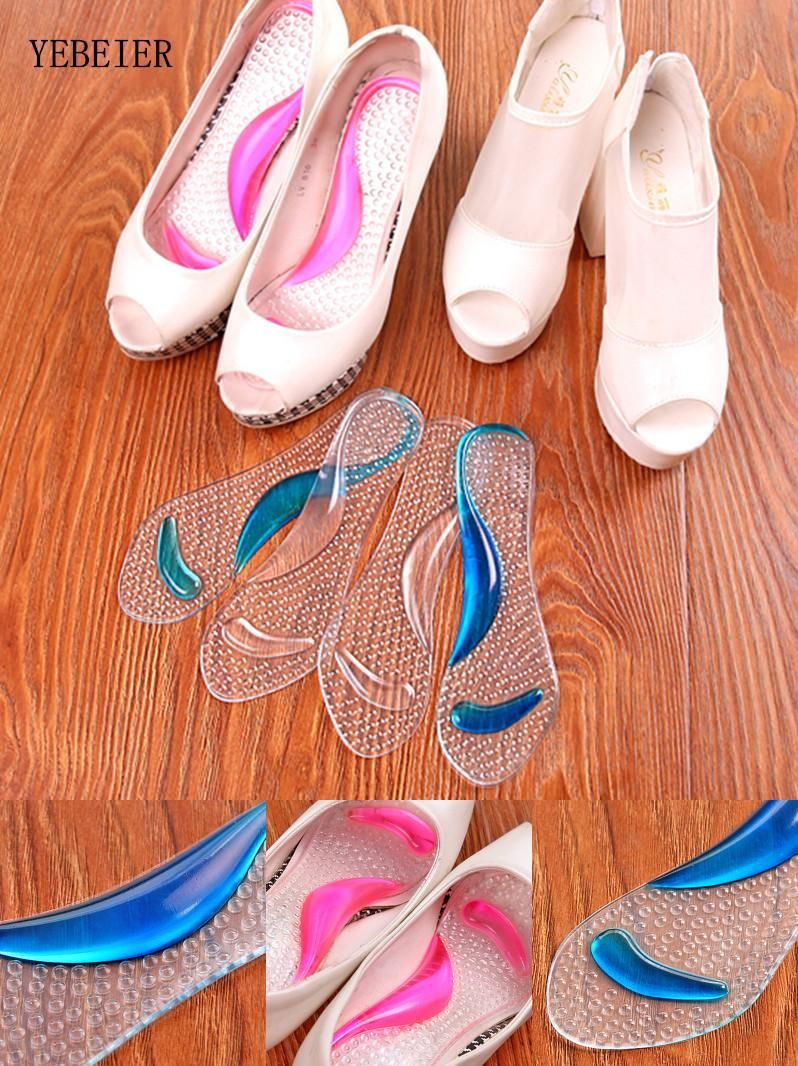 f1313d36399  Visit to Buy  Gel 3 4 Lady High Heels Insoles Arch Support Metatarsal
