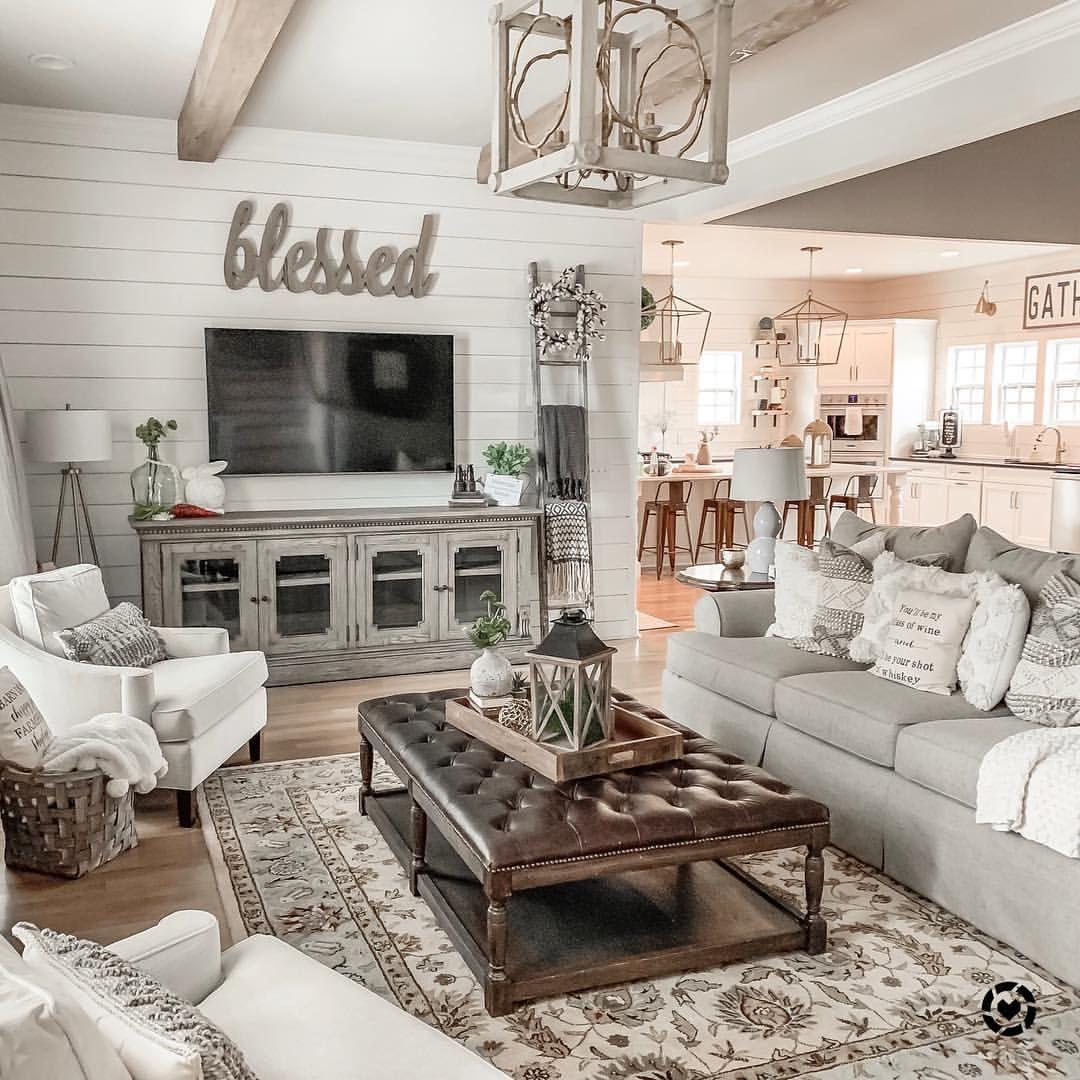 Best ℍ ℙ Jamieodazier • Insta… Modern Farmhouse Living Room Farm House 640 x 480