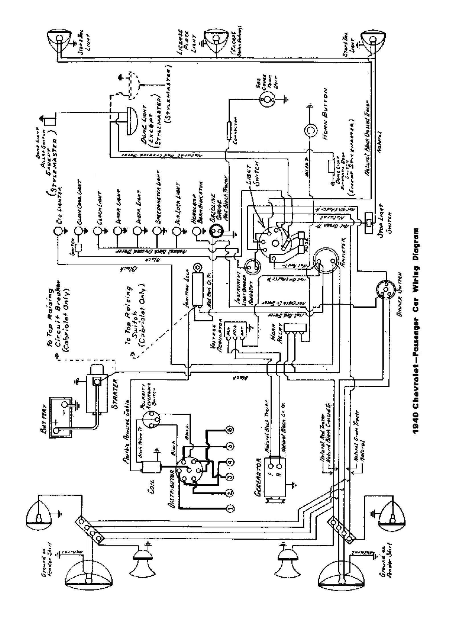 Wiring Diagram Of Car Horn