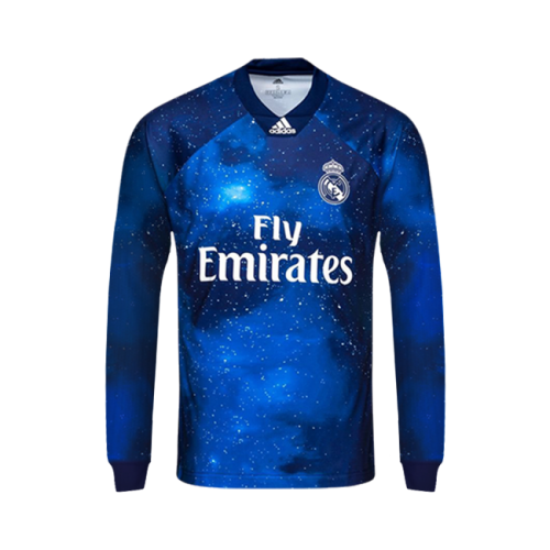 Real Madrid C F Football Club Long Sleeve 4th Kit Ea Sports X Adidas Limited Edition 2018 19 Futbol Soccer Calcio Shirt Jersey Fussbal Camisetas Futebol Terno