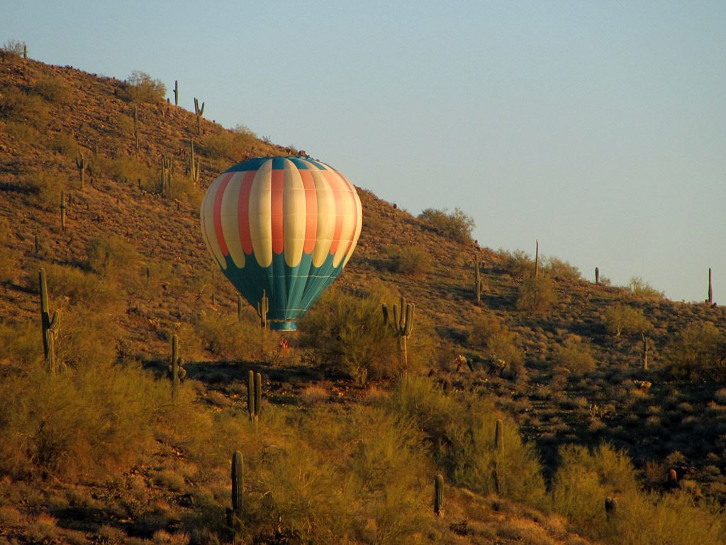 Hot Air Balloon rides in Phoenix, Arizona! Balloon rides