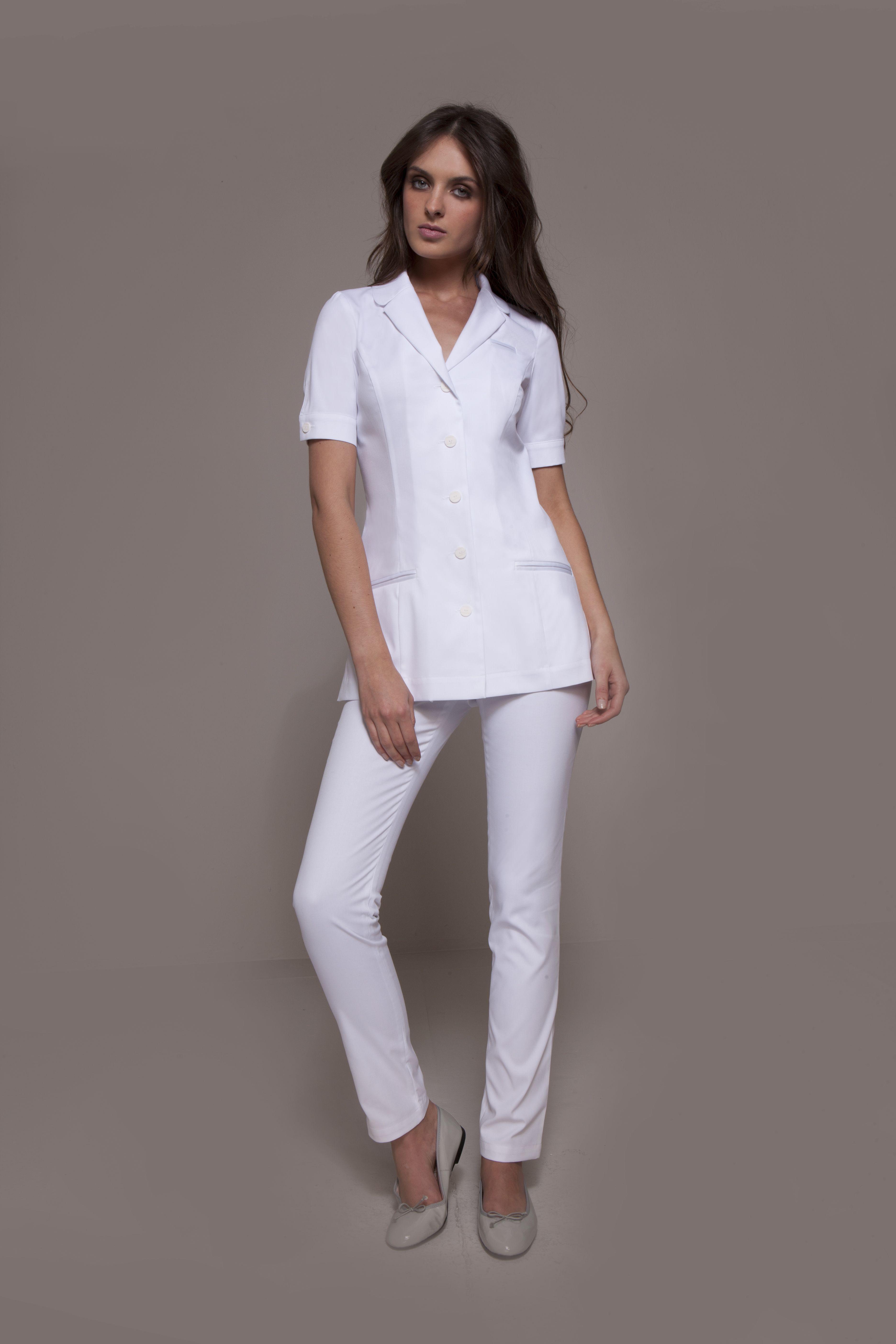 Stylemonarchy spa uniform seattle tunic cordoba white dental uniform aesthetics uniform for White spa uniform uk