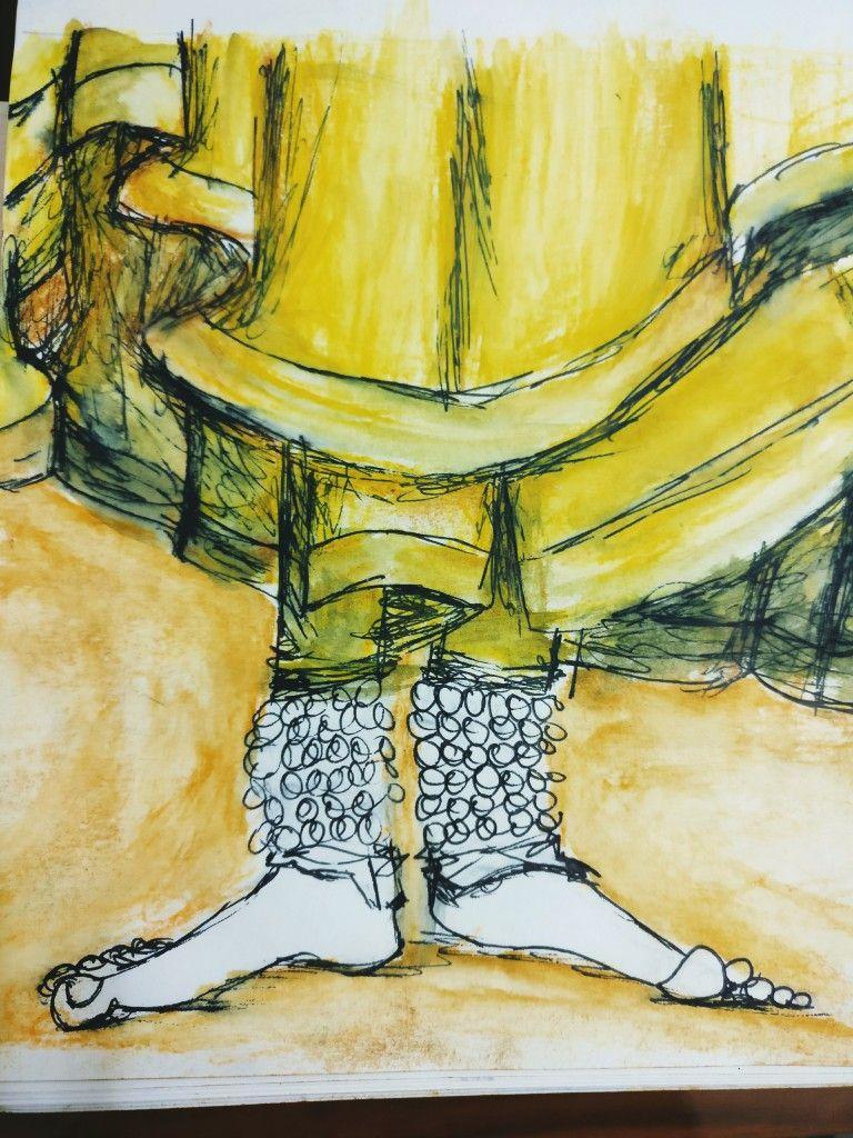 Indian dance kathak | art work | Pinterest | Dancing and Sketches