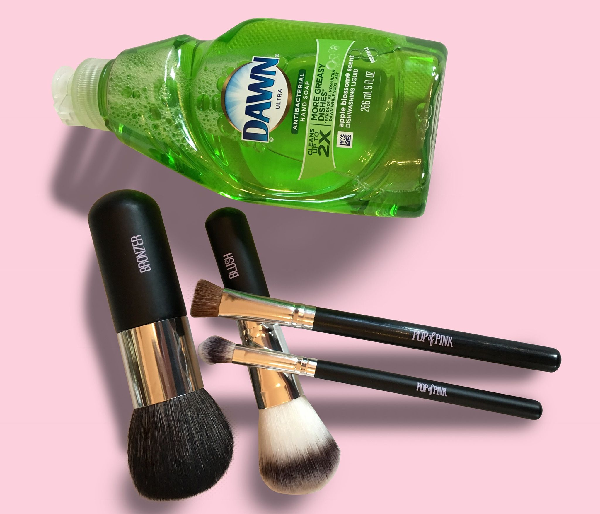 Tip Tuesday! OK gals, cleaning your makeup brushes not