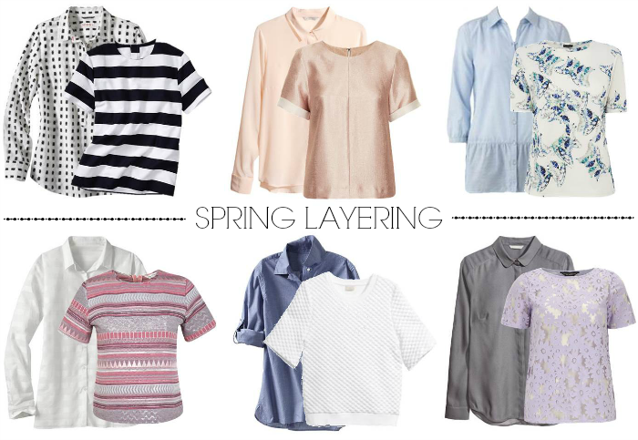Easy layering ideas