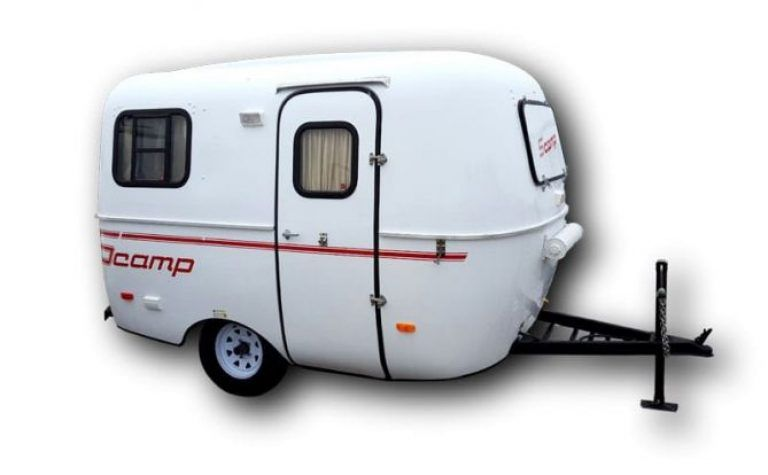 2019 13 Scamp Trailer Front Bathroom Tiny Living Scamp