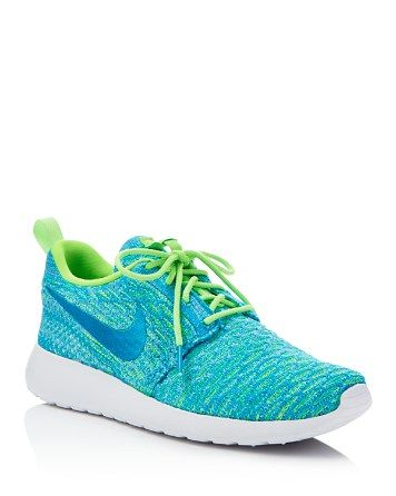 buy popular 62188 5c367 Nike Womens Roshe One Flyknit Sneakers  Bloomingdales