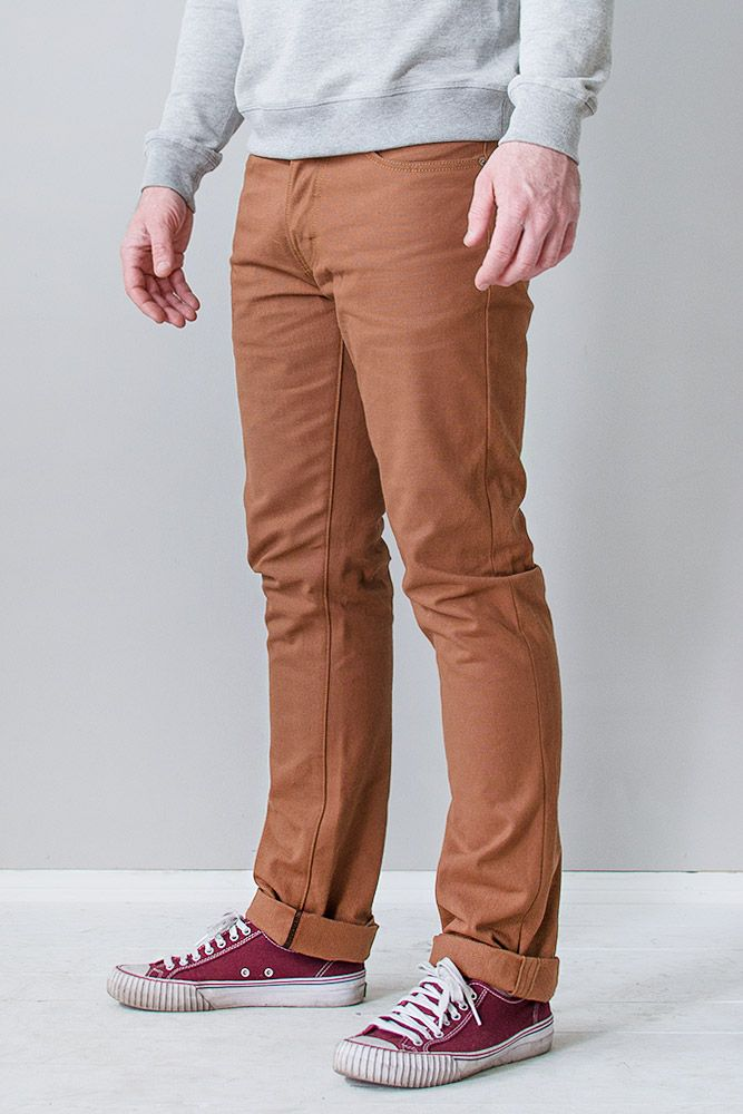 Deadstock Selvage Duck Canvas Pant.