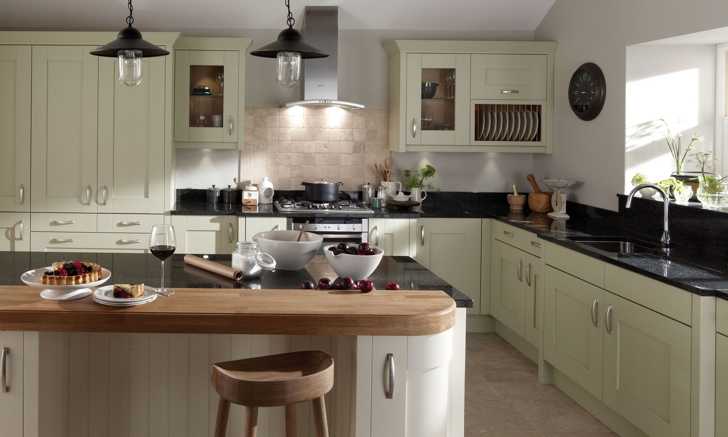 Milbourne Kitchen fittings, Kitchen concepts, Country
