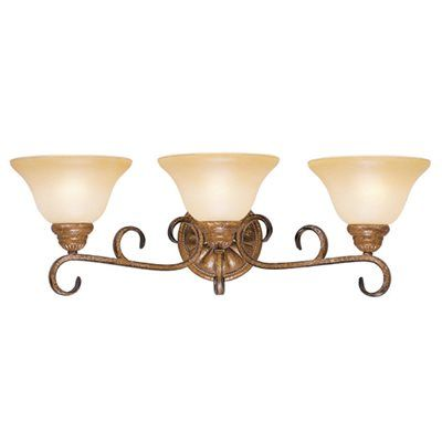 Livex Lighting 8283-57 Bistro 3 Light Wall Sconce