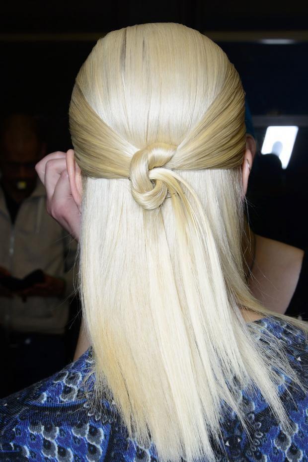 #hair style #blond white