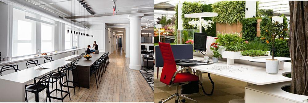Office-Trends 2018 Office-Design-Ideen für diese Saison Office