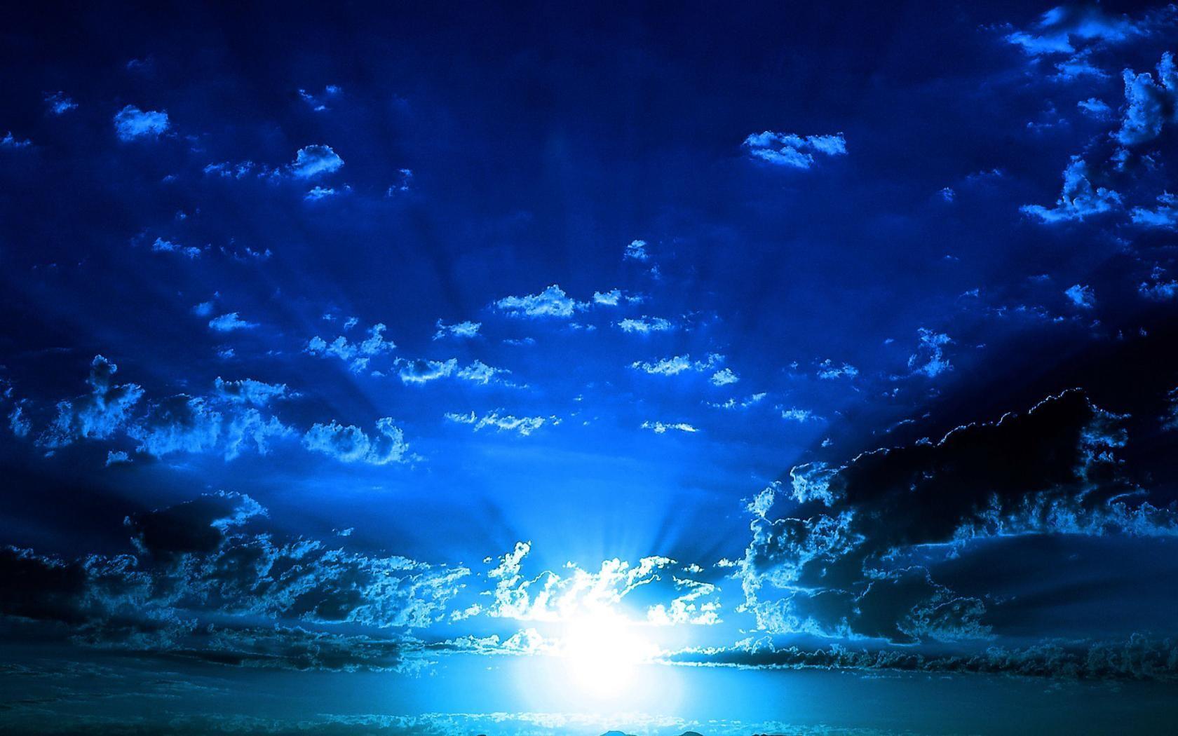 Graphics Nature Graphics Sky Clouds Sun Sunshine Dark Sunrise Wallpaper Sunset Wallpaper Blue Sunset