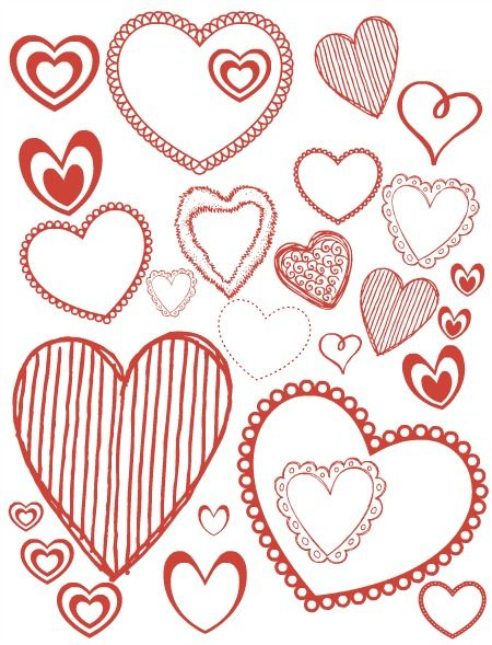 Coloring pages and printables for Valentine\'s Day | Memories ...