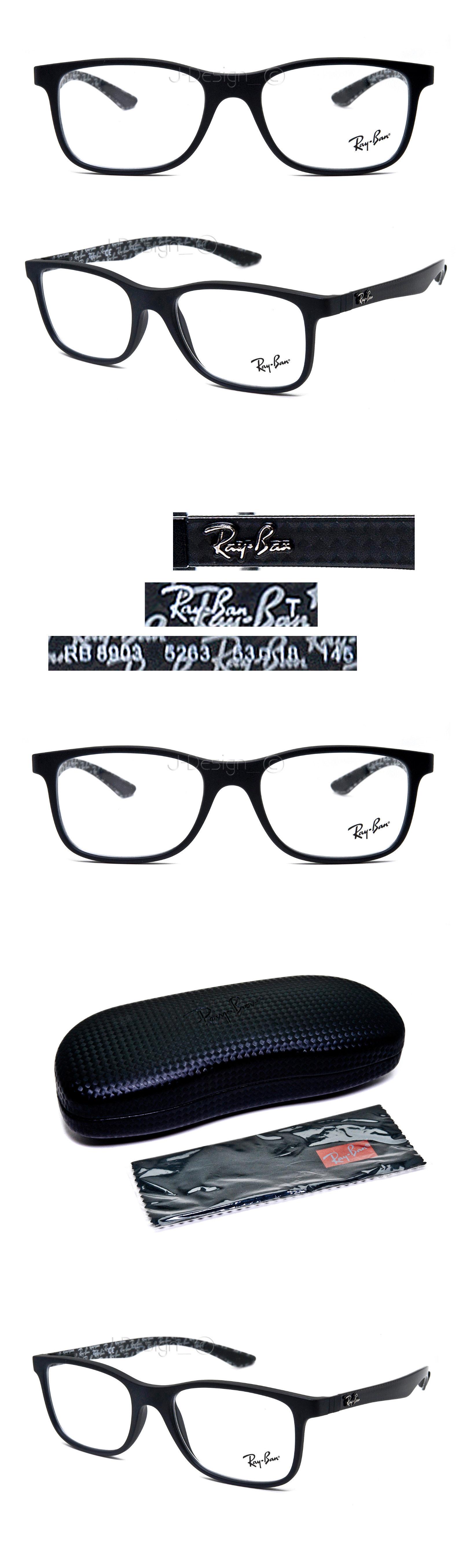 62110d8fa97 Eyeglass Frames  Ray Ban Rb 8903 5263 Carbon Matte Black 53 18 145 Eyeglasses  Rx