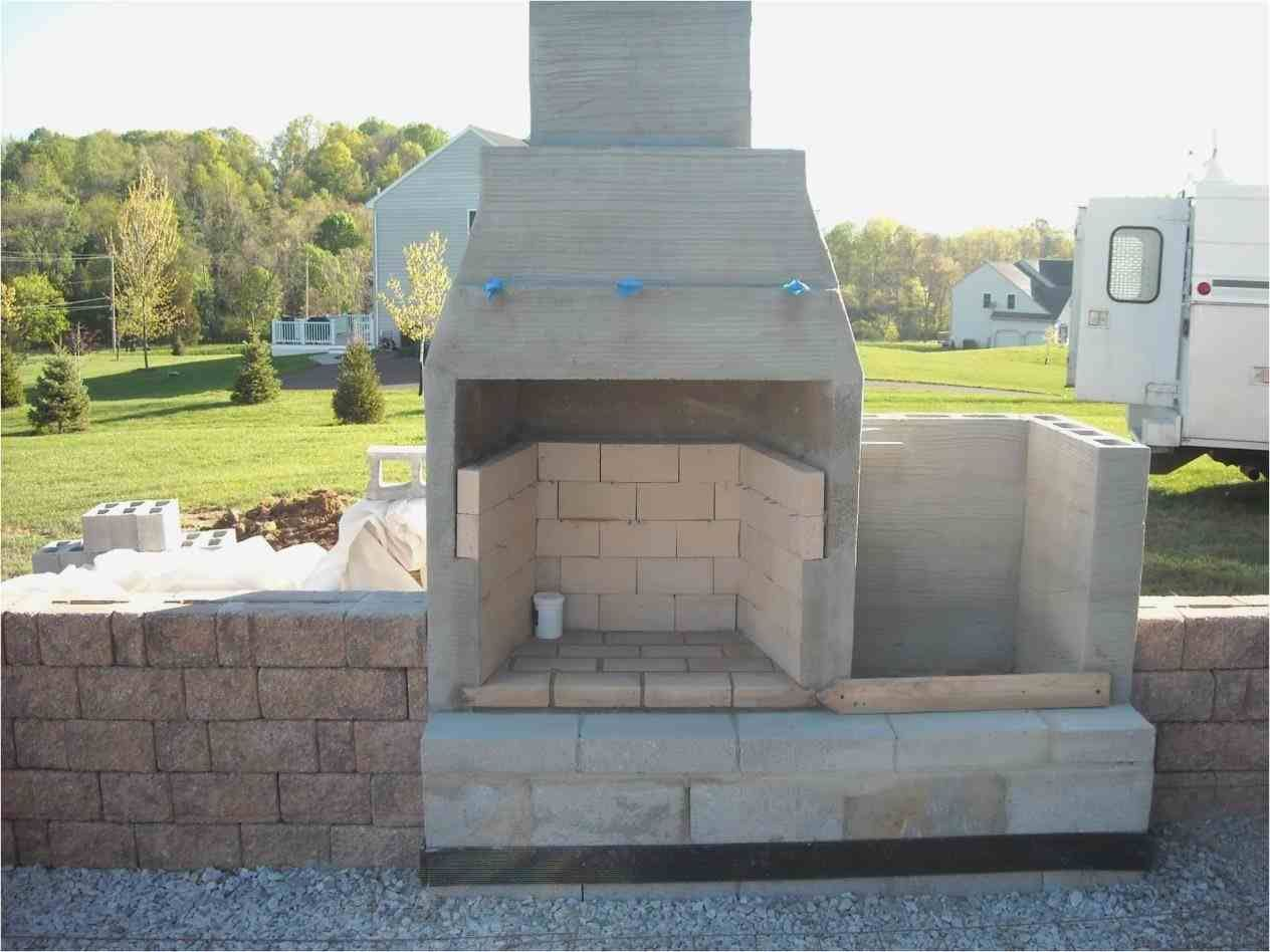diy outdoor fireplace with cinder blocks | Outdoor ... on Building Outdoor Fireplace With Cinder Block id=16495