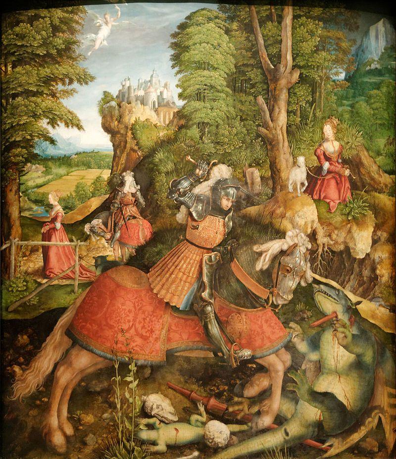 Leonhard Beck: São Jorge e o Dragão.