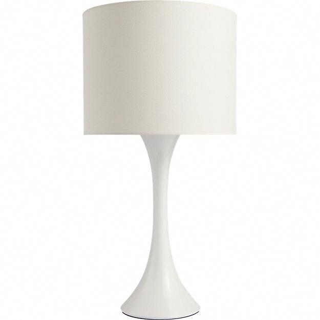 Ada Ii White Table Lamp Reviews Cb2 Tablelamps Table Lamp White Table Lamp Modern Table Lamp